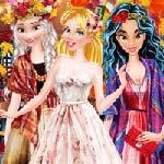 Игра Принцессы Диснея на осеннем балу