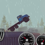 Игра Ride to hill: Offroad Hill Climb