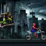 Игра Спайдермен: Покатушки на байке