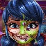 Игра Макияж для Леди Баг: Готовимся к Хэллоуину