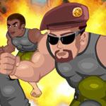 Игра Спасательный забег солдат