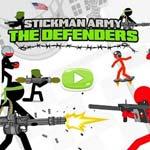 Игра Стикмен: Отряд защитников
