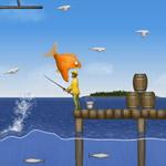 Игра Tasty Blue: Приключения голодной рыбки