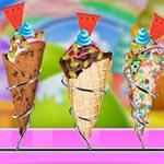 Игра Плохое мороженое на фабрике
