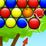 Игра Шарики: Выбей апельсины