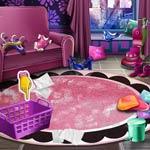 Игра Уборка в девчачьем доме