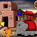 Игра Счастливая обезьяна на восточном рынке