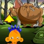 Игра Счастливая обезьяна с троллями