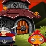 Игра Счастливая обезьянка 1: Викинги
