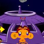 Игра Счастливая обезьянка 8: В космосе