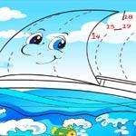 Игра Рисовалки: Картинки по точкам