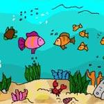 Игра Рисовалки: Тайны океана