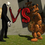 Игра Фредди против Слендермена