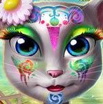 Игра Китти: Пляжный мейкап