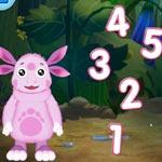 Игра Лунтик: Забавная арифметика