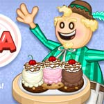 Игра Papa's Scooperia To Go