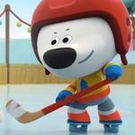 Игра Мимимишки хоккеисты геймплей