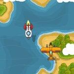 Игра Воздушный бой над рекой Геймплей