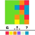 Игра Закрась квадрат геймплей