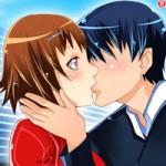 Игра Поцелуи в стиле аниме
