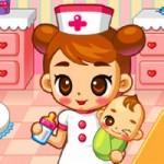Игра Больница для беременных: кормление деток
