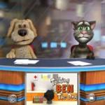 Игра Говорящий кот Том и пес Бен