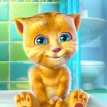 Игра Кот Том Говорящий Рыжик