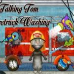 Игра Мой Говорящий Том на Пожарной Машине