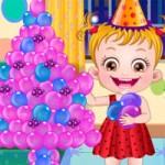 Игра Новый год с малышкой Хейзел