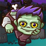 Игра Кизи Отбиваемся от зомби