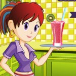 Игра Кухня Сары: Коктейли смузи
