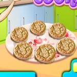 Игра Кухня Сары: Печенье с миндалем