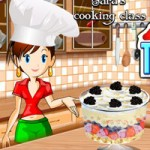 Игра Кухня Сары: Новый рецепт торта