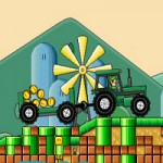 Игра Для мальчиков 9 лет: Едем на тракторе