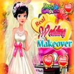 Игра Для девочек: Свадебный макияж