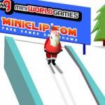 Игра Новый год: Трюки на лыжах