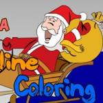 Игра Раскраска Деда Мороза