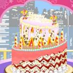 Игра Печем торт на Новый год