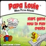 Игра Пицца в пиццерии папы Луи