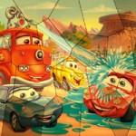 Игра Пазлы для мальчиков 4 лет: Тачки