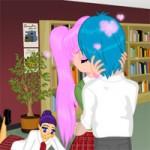 Игра Поцелуй на уроке