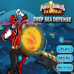 Игра Рейнджеры Самураи защищают морскую базу